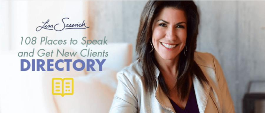 108 Places to Speak and Find Coaching Clients