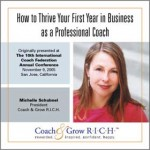 How to Thrive Your First Year in Business as a Coach