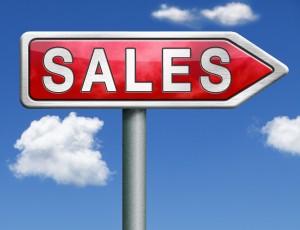 SalesRedArrowSign