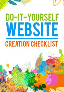 Do-It-Yourself Website Creation Checklist