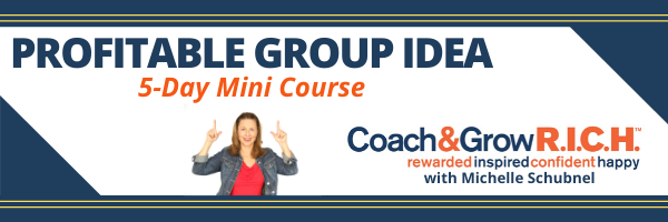 Find Your Profitable Online Group Idea… In just 5 days!