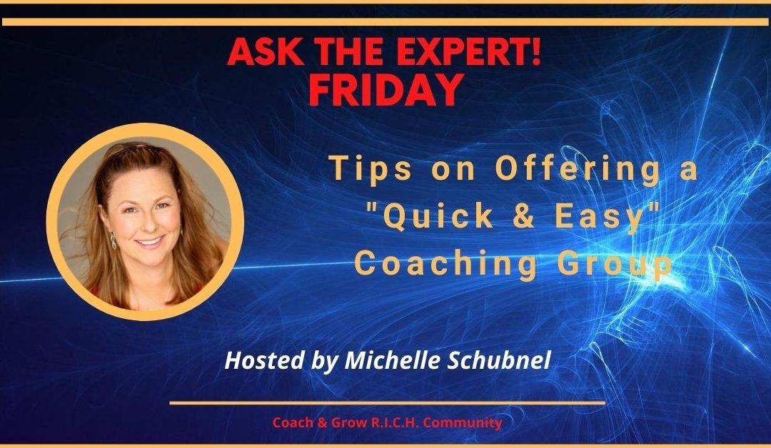 Want to Gain Momentum in Your Coaching Business?