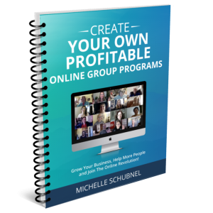 Profitable Online Group Programs Blueprint