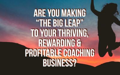"Will you make ""The Big Leap"" in 2018?"